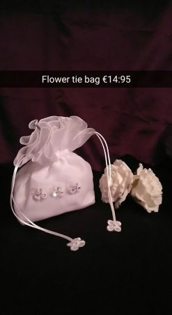 flower tie bag