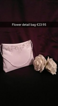 flower detail bag